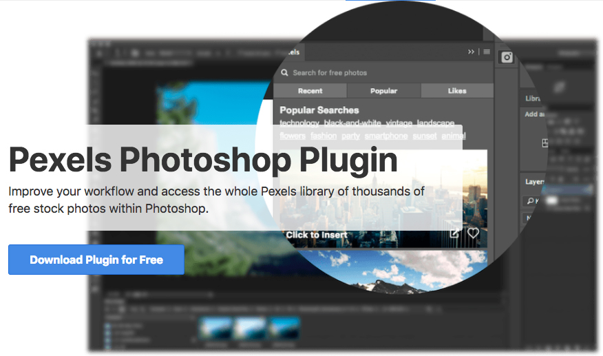 Hidden Free Stock Photos Inside of Ps - Pexels Photoshop