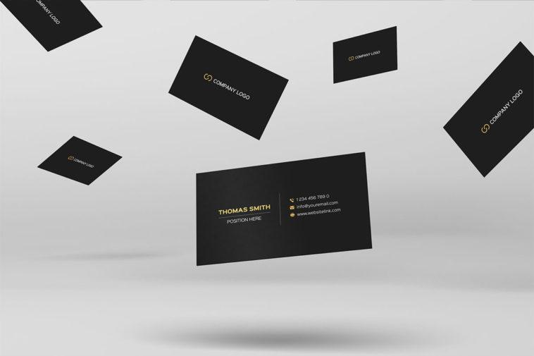 Minimalistic Business Card Psd Template Psfiles