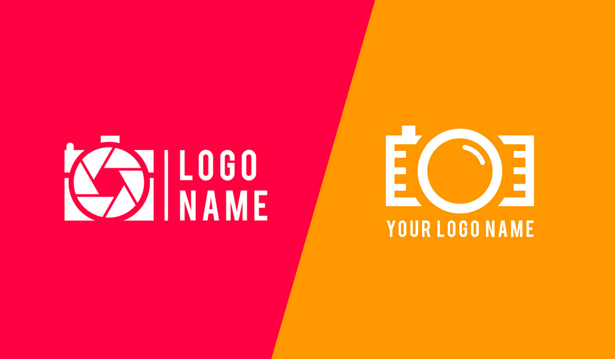 logo design psd minimal photography logo design template - psfiles