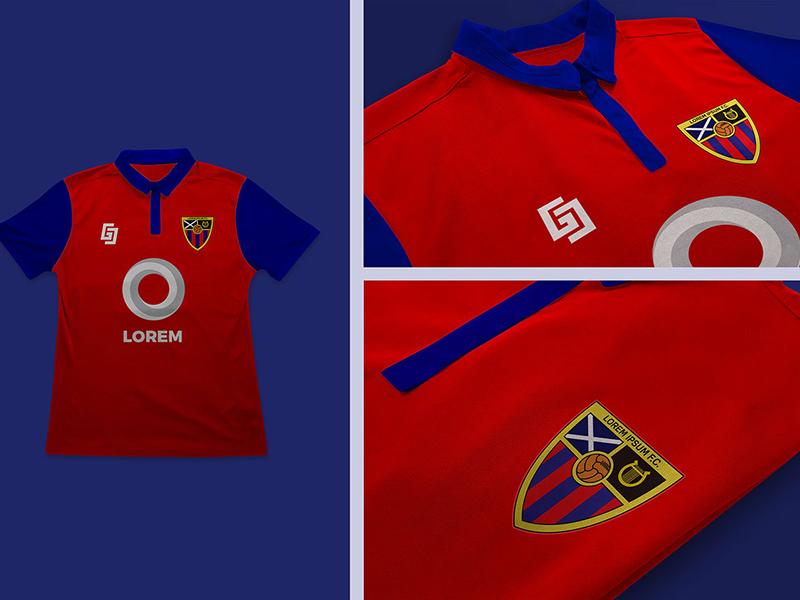 Football Soccer Jersey And Logo Mockup Psfiles
