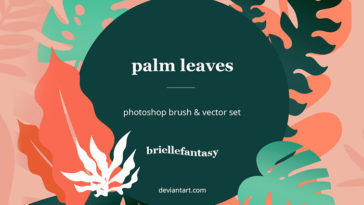 Palm Leaves Brushes Psfiles