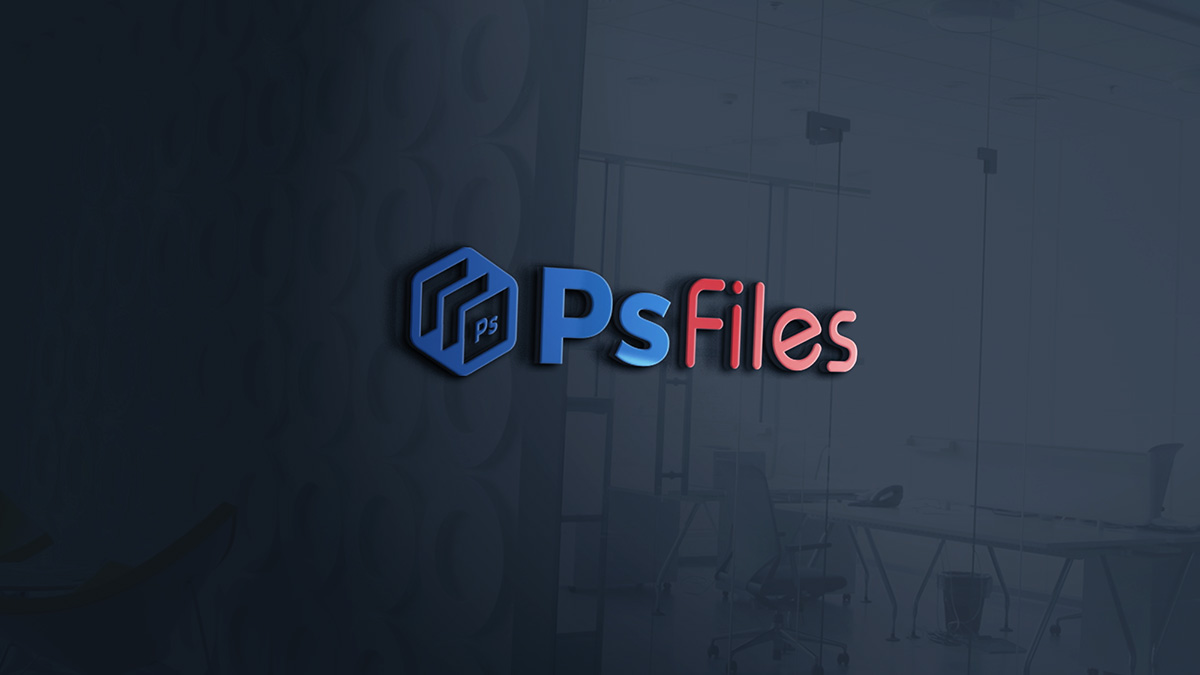 Free 3d Indoor Signage Mockup Psd Psfiles
